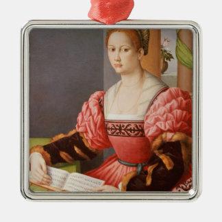 Portrait of a Lady Christmas Ornament