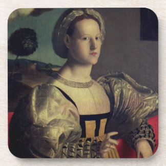 Portrait of a lady coasters