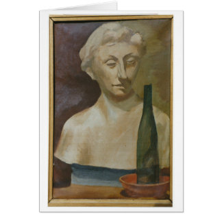 Portrait of a lady from antiquity 1990 card