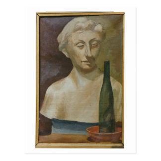 Portrait of a lady from antiquity 1990 postcard