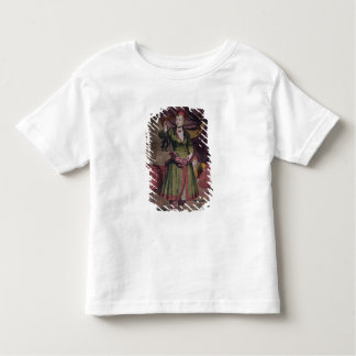 "Portrait of a lady from the ""Book of Designs"" Toddler T-Shirt"