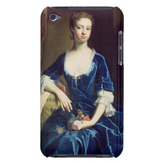 Portrait of a Lady in a Blue Velvet Dress (oil on iPod Touch Cases