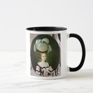Portrait of a Lady in a Hat Mug