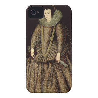Portrait of a Lady in Elizabethan Dress iPhone 4 Covers