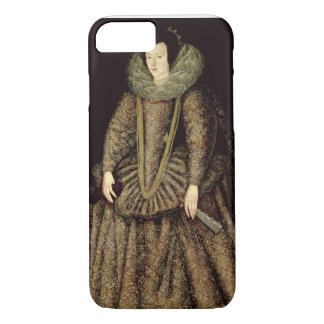 Portrait of a Lady in Elizabethan Dress iPhone 7 Case