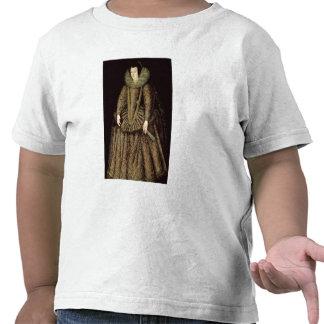 Portrait of a Lady in Elizabethan Dress Tshirts