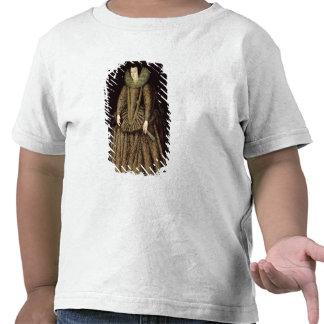 Portrait of a Lady in Elizabethan Dress Shirt
