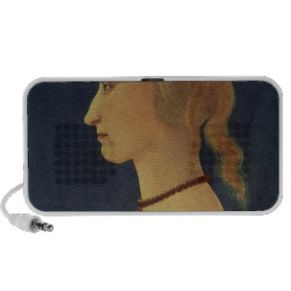 Portrait of a Lady in Yellow, c.1465 iPhone Speaker