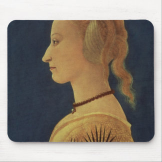Portrait of a Lady in Yellow, c.1465 Mouse Pad