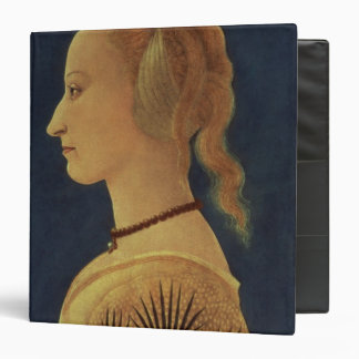 Portrait of a Lady in Yellow, c.1465 Vinyl Binder
