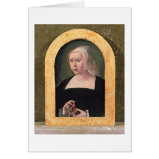 Portrait of a lady (panel) card