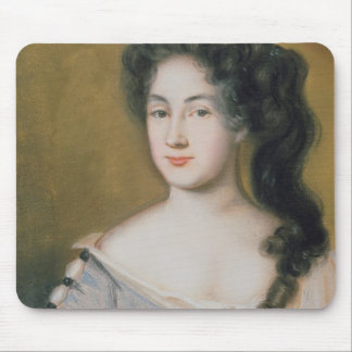Portrait of a Lady (pastel on paper) Mouse Mat