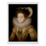 Portrait of a Lady, possibly Mary Queen of Scots ( Poster