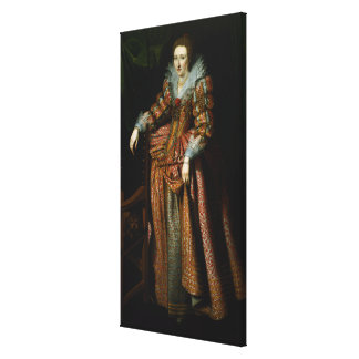 Portrait of a Lady said to be from the Canvas Print