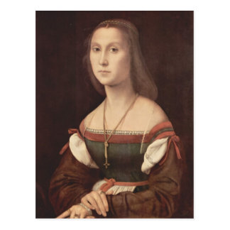 Portrait of a Lady (The Mute) by Raphael Postcard