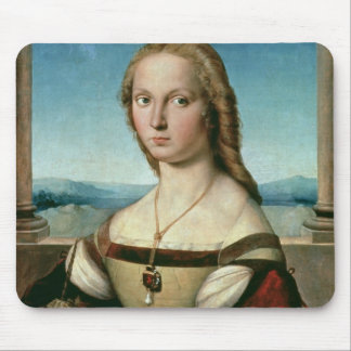 Portrait of a Lady with a Unicorn, c.1505-6 Mouse Pad