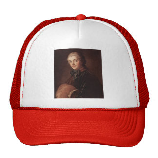 Portraitof a LadywithMuff by Francois Boucher Trucker Hat
