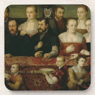 Portrait of a Large Family Coasters