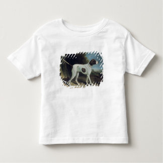 Portrait of a liver and white pointer toddler T-Shirt