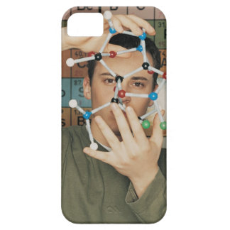 Portrait of a Male University Student Holding up Barely There iPhone 5 Case