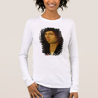 Portrait of a Man, 1506 (oil on panel) Long Sleeve T-Shirt