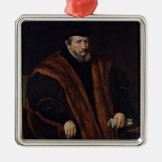 Portrait of a Man, 1564 Christmas Ornament