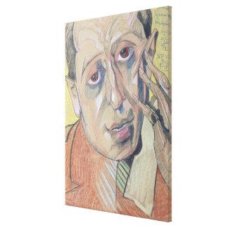 Portrait of a man, 1924 canvas print