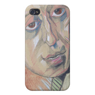 Portrait of a man, 1924 case for iPhone 4
