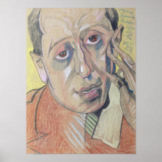 Portrait of a man, 1924 poster