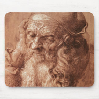 Portrait of a man, aged ninety-three, 1521 mouse mat