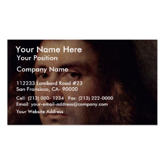 Portrait Of A Man (Bust Of A Man) By Palma Il Vecc Pack Of Standard Business Cards