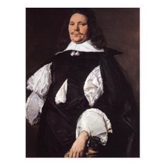 Portrait of a Man by Frans Hals Postcard