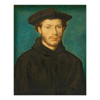 Portrait of a Man, c. 1536- 40 (oil on walnut)