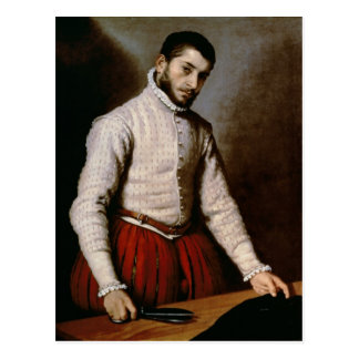 Portrait of a Man  c.1570 Postcard