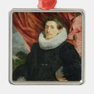 Portrait of a Man, c.1619 Christmas Ornament