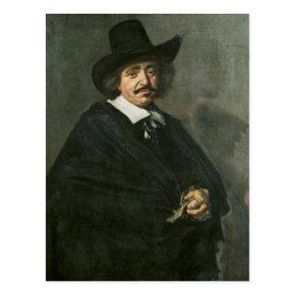 Portrait of a man, c.1654-55 postcard