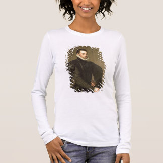 Portrait of a Man from the Retinue of Cardinal Gra Long Sleeve T-Shirt