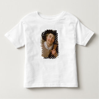 Portrait of a Man Holding a Wine Glass Toddler T-Shirt