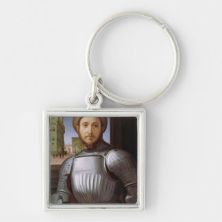 Portrait of a Man in Armour Key Ring