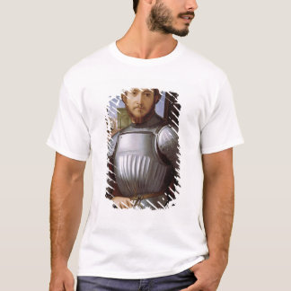 Portrait of a Man in Armour T-Shirt