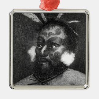 Portrait of a Man of New Zealand Christmas Ornament