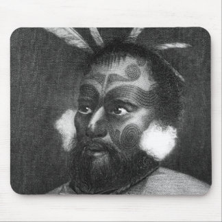 Portrait of a Man of New Zealand Mouse Mat