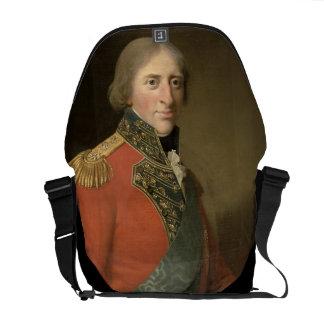Portrait of a Man (oil on canvas) Courier Bag