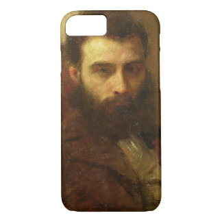Portrait of a Man (oil on panel) iPhone 8/7 Case