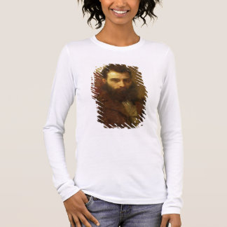 Portrait of a Man (oil on panel) Long Sleeve T-Shirt