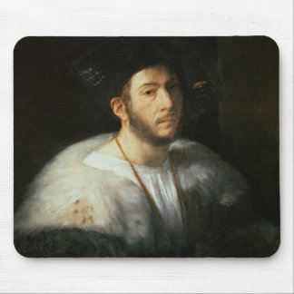 Portrait of a man, possibly Cesare Borgia (1476-15 Mouse Mat