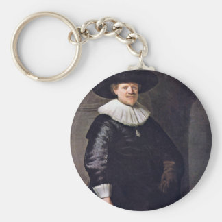 Portrait Of A Man Possibly The Poet January Keychains