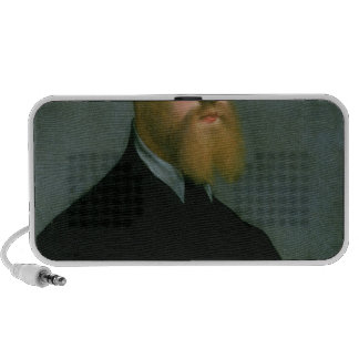 Portrait of a man with a ginger beard mp3 speaker