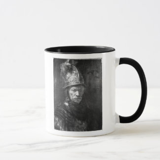 Portrait of a Man with a Golden Helmet, 1648 Mug