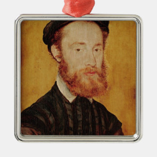Portrait of a Man with Blonde Hair Christmas Ornament